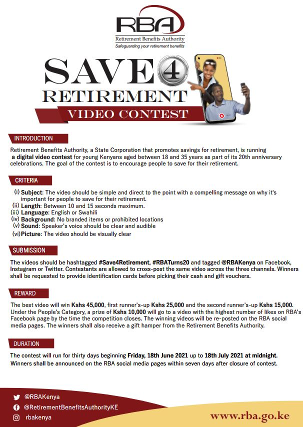 RBA VIDEO CONTEST GUIDELINES